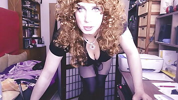 Sissy boss is not pleased with your venture