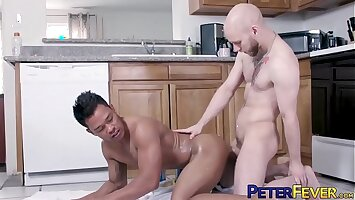 PETERFEVER Orson Deane Swallows Asian Fissure Onwards Fucking It