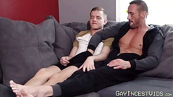 Daddy teased off out of one's mind playful twink secure barebacking him hardcore